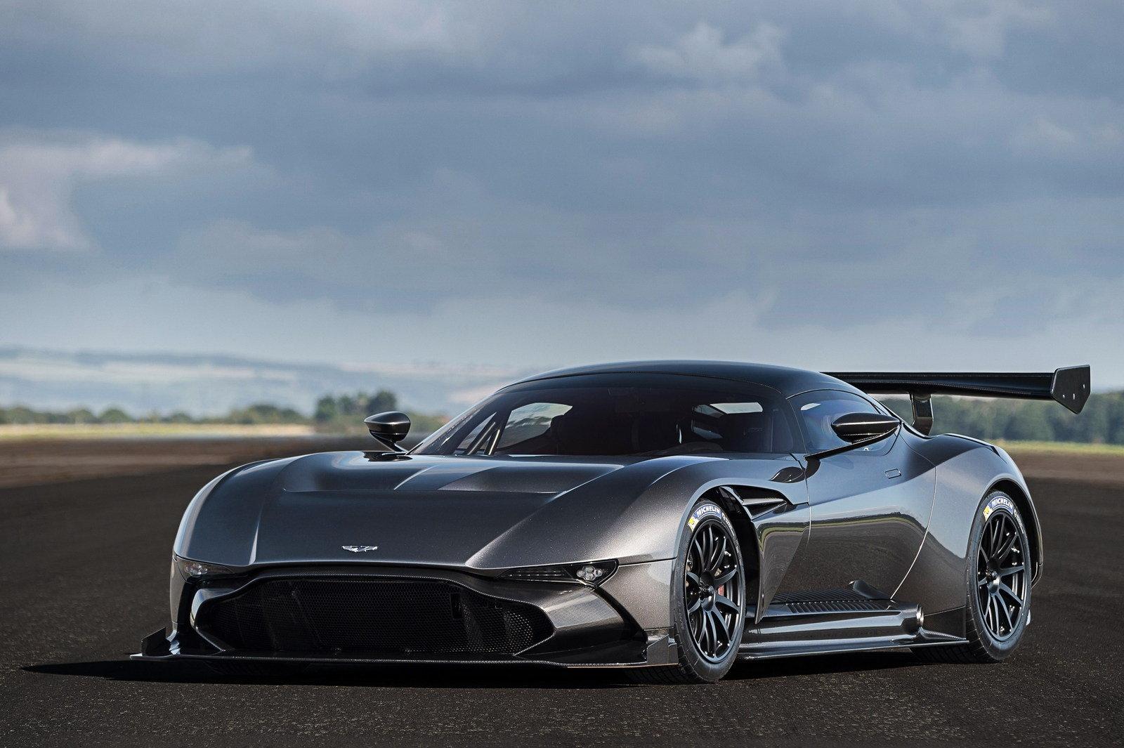 Aston Martin Vulcan branding