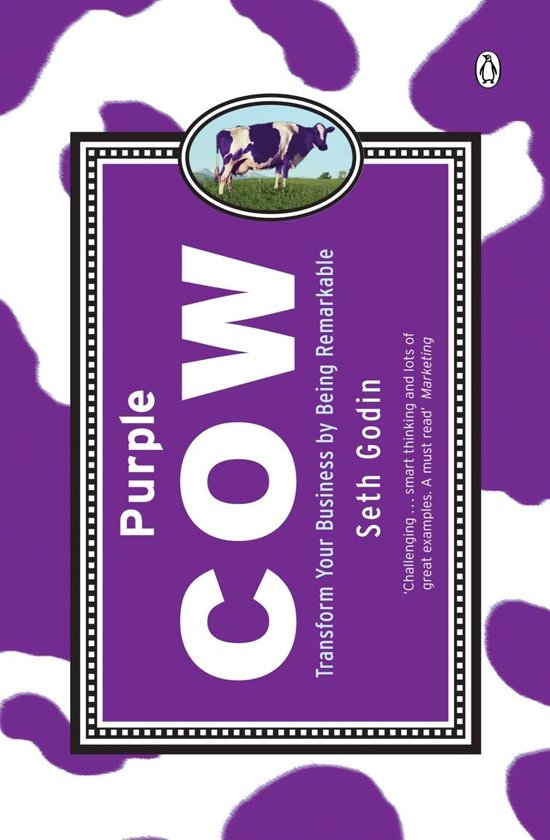 Purple Cow by Seth Godin